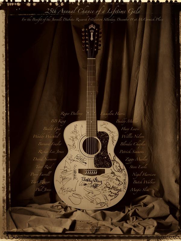 عکس دخترانه گیتار